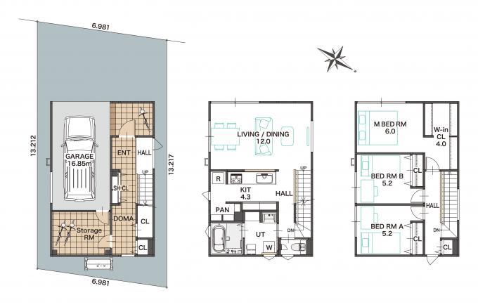 【ジョンソンホームズの建売 SOUHOUSE】厚別中央2条4丁目A 画像3