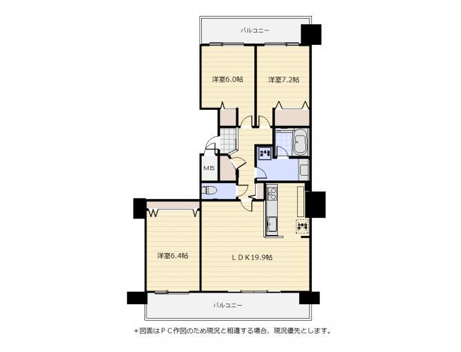 D'グラフォート東札幌V-Garden 画像3