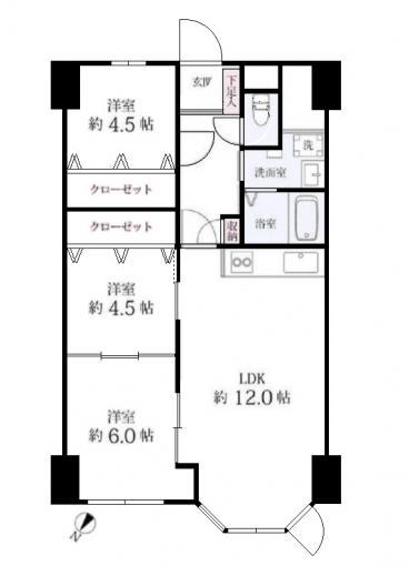 京成サンコーポ琴似台 画像3