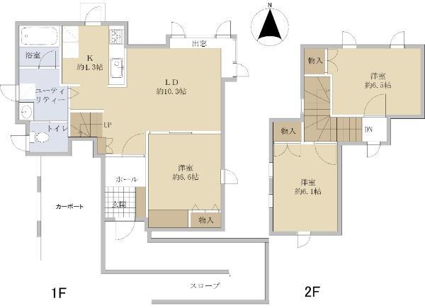 ☆藤野4条6丁目 新品家具付きリフォーム住宅☆ 画像3
