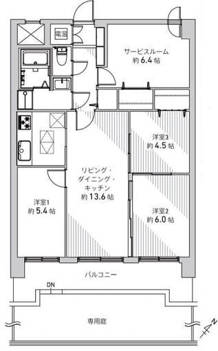 ライオンズマンション真駒内第三 画像3