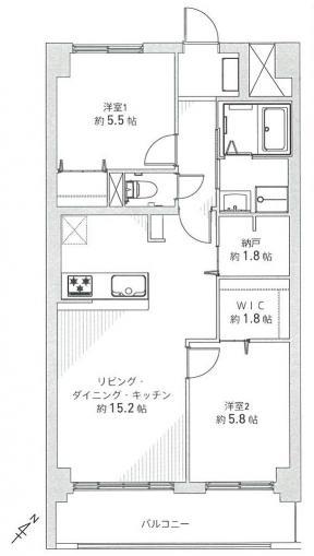☆オープンルーム初公開☆朝日プラザ宮の森 画像3