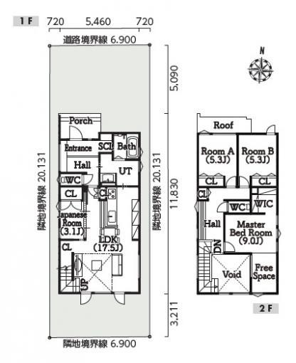 土屋ホーム「南25西9H 北欧モノトーンモデル」   画像2