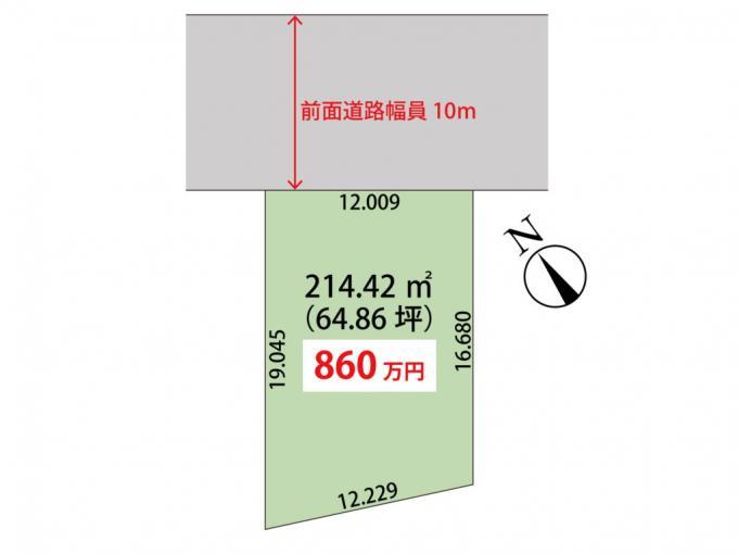 北海道恵庭市桜町2丁目1-4 JR千歳線[恵庭]の売買土地物件詳細はこちら