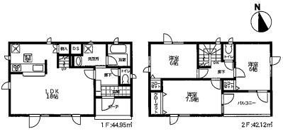 ◆太平11条6丁目 JR百合が原駅徒歩11分の新築戸建!◆ 画像3