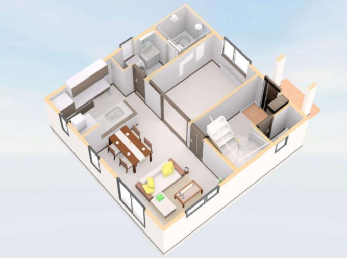 【コスモ建設】テレワークスペースがある家  Ettelbruck  エテルブリュック 画像2