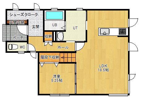 新築戸建・限定1邸・令和3年11月完成予定【大麻北町】 画像3