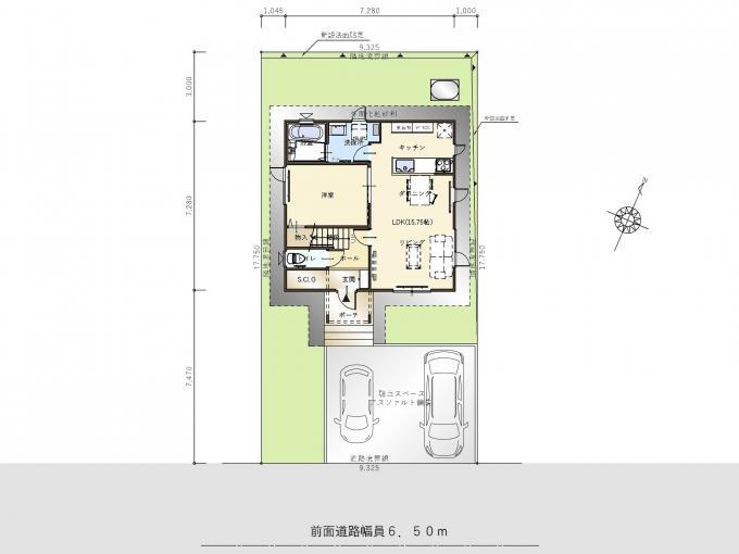 【コスモ建設】S.CLOとワークスペースのある家  Oradea  オラデア 画像2