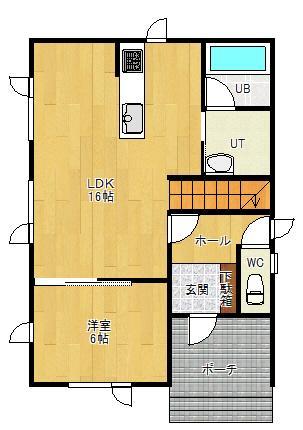 リノベーション住宅 【花川北6条4丁目・戸建】 画像3