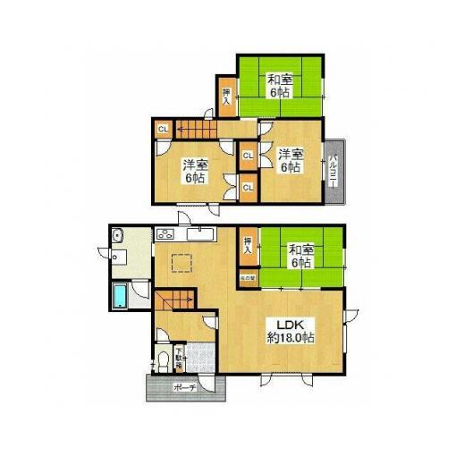 ◆簾舞5条1丁目 南東角地につき陽当たり良好な平成築戸建!◆ 画像3