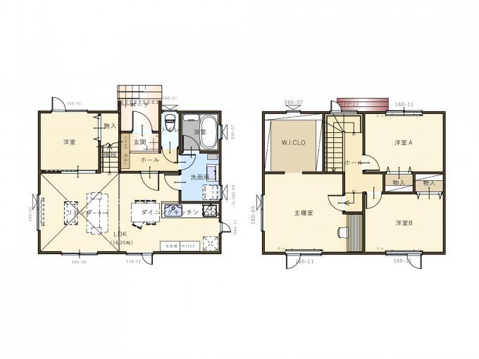 【コスモ建設】洗面室2wayで家事ラク動線の家 Rovigo  ロヴィーゴ 画像3