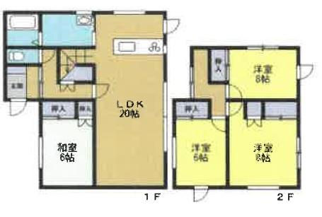 ◆岩見沢市南町7条3丁目 令和3年7月リフォーム完了の綺麗な物件です!◆ 画像2