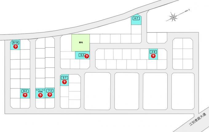 北海道恵庭市西島松123番地ほか JR千歳線[島松]の売買土地物件詳細はこちら