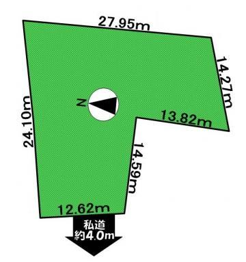 土地赤岩2丁目190万円 画像2